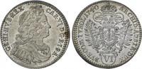 6 Kreuzer 1740 Römisch Deutsches Reich Karl VI. 1711-1740. Fast Stempel... 85,00 EUR  plus 5,00 EUR verzending