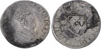 Teston 1554  O Frankreich Heinrich II. 1547-1559. Etwas fleckig, fast s... 625,00 EUR  plus 7,50 EUR verzending