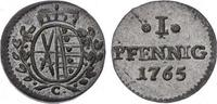 Pfennig 1765  C Sachsen-Albertinische Linie Friedrich August III. 1763-... 38,00 EUR  plus 5,00 EUR verzending