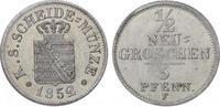 1/2 Neugroschen 1852  F Sachsen-Albertinische Linie Friedrich August II... 60,00 EUR  plus 5,00 EUR verzending