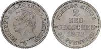 2 Neugroschen 1873  B Sachsen-Albertinische Linie Johann 1854-1873. Fas... 65,00 EUR  plus 5,00 EUR verzending