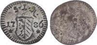 Pfennig 1786 Nürnberg, Stadt  Fast Stempelglanz  30,00 EUR  plus 5,00 EUR verzending