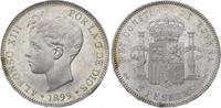 5 Pesetas 1899  SG Spanien-Königreich Alfons XIII. 1886-1931. Minimale ... 175,00 EUR  plus 5,00 EUR verzending