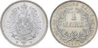 Mark 1881  F Kleinmünzen  Vorzüglich-Stempelglanz  145,00 EUR  plus 5,00 EUR verzending
