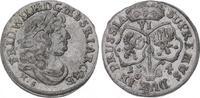 6 Gröscher 1 1684  HS Brandenburg-Preußen Friedrich Wilhelm 1640-1688. ... 150,00 EUR  plus 5,00 EUR verzending