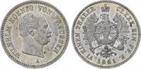1/6 Taler 1861  A Brandenburg-Preußen Wilhelm I. 1861-1888. Winziger Ra... 100,00 EUR  plus 5,00 EUR verzending