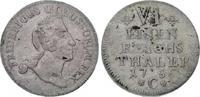 1/6 Taler 1756  C Brandenburg-Preußen Friedrich II. 1740-1786. Sehr sch... 125,00 EUR  zzgl. 5,00 EUR Versand