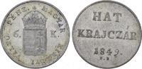 6 Kreuzer 1849  NB Römisch Deutsches Reich Franz Joseph I. 1848-1916. W... 38,00 EUR  plus 5,00 EUR verzending