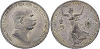 5 Kronen 1848-1916 Römisch Deutsches Reich Franz Joseph I. 1848-1916. F... 50,00 EUR  plus 5,00 EUR verzending