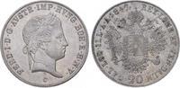 20 Kreuzer 1847  C Römisch Deutsches Reich Ferdinand I. 1835-1848. Vorz... 32,00 EUR  plus 5,00 EUR verzending