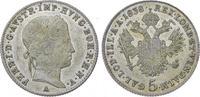 5 Kreuzer 1838  A Römisch Deutsches Reich Ferdinand I. 1835-1848. Fast ... 42,00 EUR  plus 5,00 EUR verzending