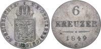 6 Kreuzer 1849  C Römisch Deutsches Reich Franz Joseph I. 1848-1916. Kl... 40,00 EUR  plus 5,00 EUR verzending
