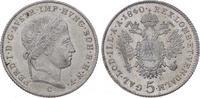 5 Kreuzer 1840  C Römisch Deutsches Reich Ferdinand I. 1835-1848. Vorzü... 35,00 EUR  plus 5,00 EUR verzending