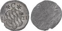 Pfennig 1631 Bayern Maximilian I., als Kurfürst 1623-1651. Leichte Präg... 28,00 EUR  zzgl. 5,00 EUR Versand