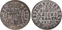 1/12 Taler 1679  CS Brandenburg-Preußen Friedrich Wilhelm 1640-1688. Gu... 125,00 EUR  zzgl. 5,00 EUR Versand