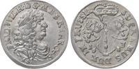6 Gröscher 1 1683  HS Brandenburg-Preußen Friedrich Wilhelm 1640-1688. ... 100,00 EUR  zzgl. 5,00 EUR Versand