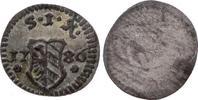 Pfennig 1786 Nürnberg, Stadt  Vorzüglich  15,00 EUR  zzgl. 5,00 EUR Versand