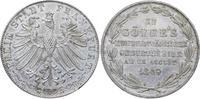 Doppelgulden 1849 Frankfurt, Stadt  Hübsche Patina. Vorzüglich-Stempelg... 245,00 EUR kostenloser Versand