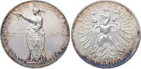 Taler 1862 Frankfurt, Stadt  Minimal berieben, vorzüglich-Stempelglanz  125,00 EUR  zzgl. 5,00 EUR Versand