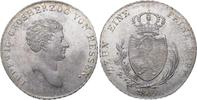 Taler 1809 Hessen-Darmstadt Ludwig I. 1806-1830. Feiner Prägeglanz. Min... 725,00 EUR kostenloser Versand