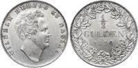 1/2 Gulden 1839 Nassau Wilhelm 1816-1839. Minimale Kratzer, winzige Ste... 175,00 EUR  zzgl. 5,00 EUR Versand
