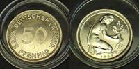 50 Pfennig 1949 J BRD Kupfer/Nickel - Bank Deutscher Länder Polierte Pl... 230,00 EUR kostenloser Versand