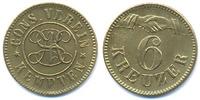 6 Kreuzer ohne Jahr Bayern - Kempten Cons. Verein Kempten (Menzel 12913... 42,00 EUR