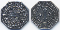 1 Pfennig 1919 Westfalen Hamm - Eisen 1919 (Funck 191.10) fast vorzügli... 34,00 EUR  zzgl. 3,80 EUR Versand