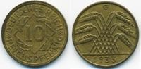 10 Reichspfennig 1933 G Weimarer Republik Kupfer/Aluminium fast vorzügl... 22,00 EUR  zzgl. 3,80 EUR Versand