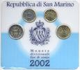 KMS 2002 San Marino - San Marino Original Mini-Kursmünzensatz 20 Cent b... 35,00 EUR  zzgl. 4,00 EUR Versand