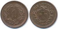 1 Rappen 1879 B Schweiz - Switzerland Eidgenossenschaft prägefrisch  90,00 EUR  zzgl. 3,80 EUR Versand
