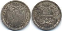 10 Centimos 1877 A Uruguay - Uruguay Republik - Silber sehr schön/vorzü... 25,00 EUR  zzgl. 3,80 EUR Versand