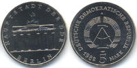 DDR 5 Mark 1982 prägefrisch Brandenburger Tor - Kupfer/Nickel 24,00 EUR