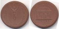 braune Porzellanmedaille 1924 Sachsen - Lössnitz Für den Bau einer Schw... 24,00 EUR  zzgl. 3,00 EUR Versand