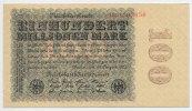 100 Millionen Mark 1923 Deutsches Reich Inflation 1919-1924 Rosenberg N... 22,00 EUR  zzgl. 3,80 EUR Versand