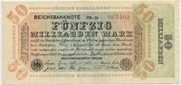 50 Milliarden Mark 1923 Deutsches Reich Inflation 1919-1924 Rosenberg N... 45,00 EUR  zzgl. 3,80 EUR Versand