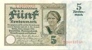 5 Rentenmark 1926 Deutsches Reich Rentenbank 1923-1937 Rosenberg Nr. 16... 70,00 EUR kostenloser Versand