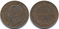 Italien - Italy 10 Centesimi Viktor Emanuel II. 1861-1878