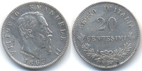 Italien - Italy 20 Centesimi Viktor Emanuel II. 1861-1878