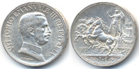 Italien - Italy 1 Lira Viktor Emanuel III. 1900-1946