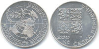 200 Kronen 1995 Tschechien - Czech Repulic Republik seit 1993 – 50 Jahr... 26,00 EUR