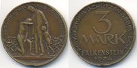 3 Mark 1924 Sachsen - Falkenstein Priv. Bürger-Schützen-Gesellschaft (M... 55,00 EUR  zzgl. 3,80 EUR Versand