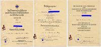 1941/43 Drittes Reich Urkundengruppe 7teilig Radfahr Abt. 72 leicht ge... 470,00 EUR kostenloser Versand