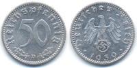 50 Reichspfennig 1939 D Drittes Reich Aluminium vorzüglich+  45,00 EUR  zzgl. 3,80 EUR Versand