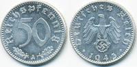 50 Reichspfennig 1943 A Drittes Reich Aluminium prägefrisch  24,00 EUR  zzgl. 3,00 EUR Versand