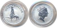 1 Dollar 1996 Australien - Australia Känguru 1996 - Silber 1 Oz. stgl/BU  47,00 EUR  zzgl. 3,80 EUR Versand