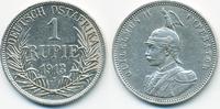 1 Rupie 1913 J Deutsch Ostafrika Wilhelm II. 1888-1918 - Silber sehr sc... 68,00 EUR  zzgl. 3,80 EUR Versand