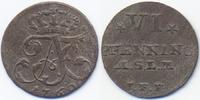 6 VI Pfennig 1760 IFF Mecklenburg-Strelitz Adolf Friedrich IV. 1752-179... 70,00 EUR  zzgl. 3,80 EUR Versand