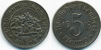 5 Pfennig 1919 Westfalen Lembeck - Eisen 1919 (Funck 286.1a) vorzüglich... 70,00 EUR  zzgl. 3,80 EUR Versand