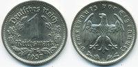1 Reichsmark 1937 G Drittes Reich Nickel prägefrisch/stempelglanz  52,00 EUR  zzgl. 3,80 EUR Versand